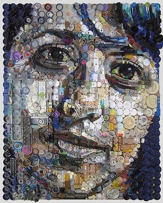 Retratos de lixo por Freeman Zac 1