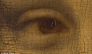 O verdadeiro Código Da Vinci: Historiadores descobrem números e letras nos olhos de Mona Lisa 2