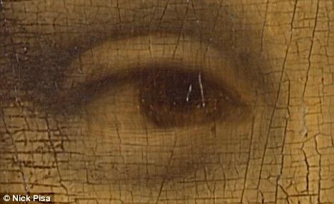 O verdadeiro Código Da Vinci: Historiadores descobrem números e letras nos olhos de Mona Lisa 3