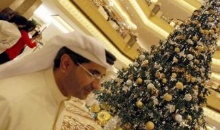 A árvore de Natal mais cara do mundo está em Abu Dhabi 2