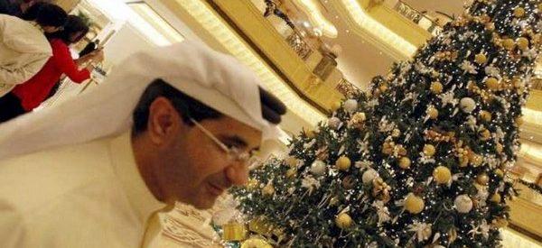 A árvore de Natal mais cara do mundo está em Abu Dhabi