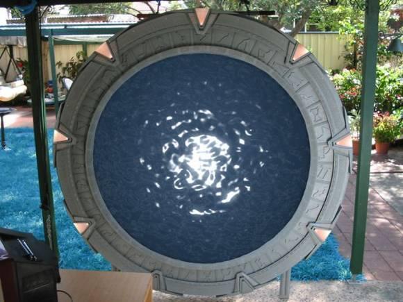 Um Stargate feito em casa 15