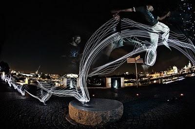 Fotos incríveis de parkour
