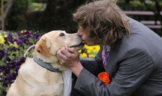 Australiano casou-se com a «melhor amiga»... a cadela 1