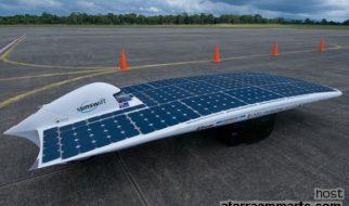O automóvel a energia solar mais rápido do mundo 3