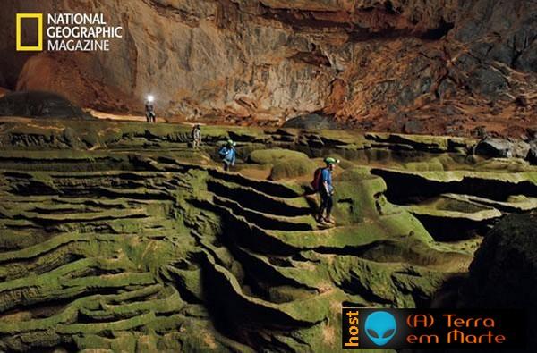 Espectaculares imagens das cavernas Mamute no Vietname 6