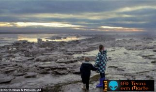 Icebergues na costa da Cumbria (Inglaterra) 3