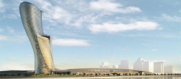O novo edifício mais inclinado do mundo