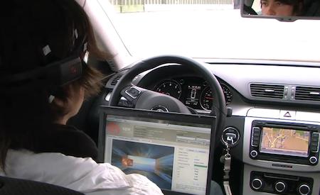 Incrível: Controlar um carro com a mente