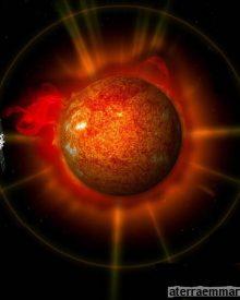 As primeiras imagens completas do Sol em 3D
