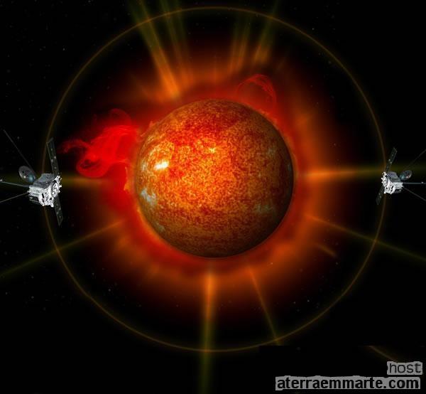As primeiras imagens completas do Sol em 3D 1