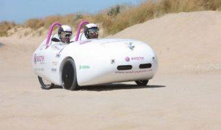 Veículo a energia eólica percorreu a Austrália em 18 dias 1