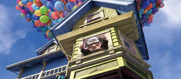 """A verdadeira casa do filme """"Up Altamente"""""""