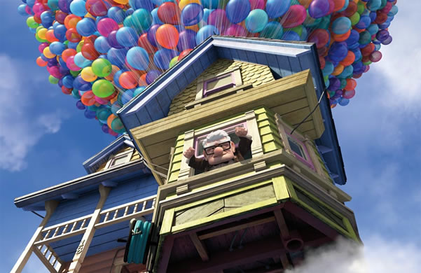 """A verdadeira casa do filme """"Up Altamente"""" 1"""