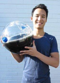 Uma bola que gera agua potável 2