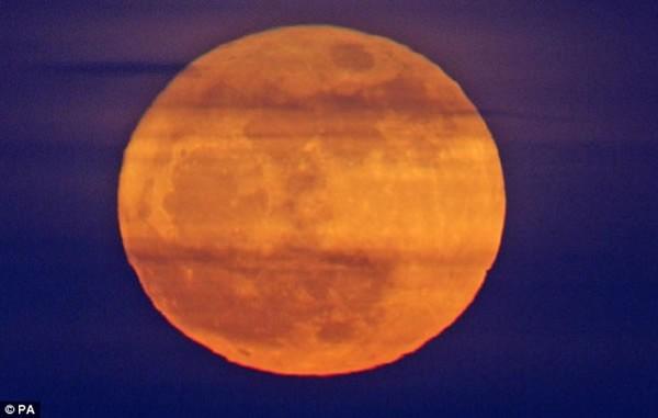 As melhores imagens da super lua 2