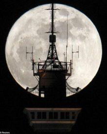 As melhores imagens da super lua