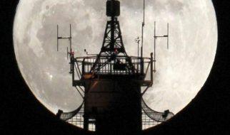 As melhores imagens da super lua 13