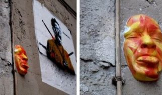 Rostos nas paredes de Paris 3