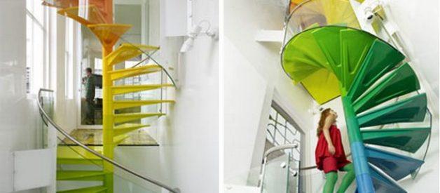 Rainbow House, um oásis de cor
