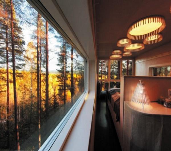 Um hotel nas árvores 1