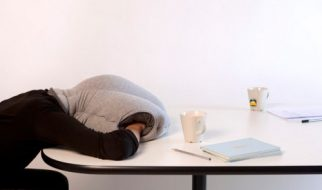 Para descansar no trabalho como uma avestruz 2