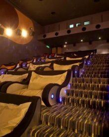 Sala de cinema para dormir