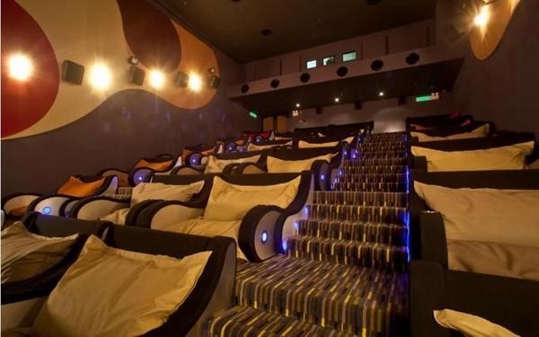 Sala de cinema para dormir 1