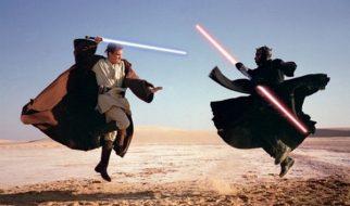 """A curiosa rodagem do filme """"Star Wars – A ameaça fantasma"""" 2"""