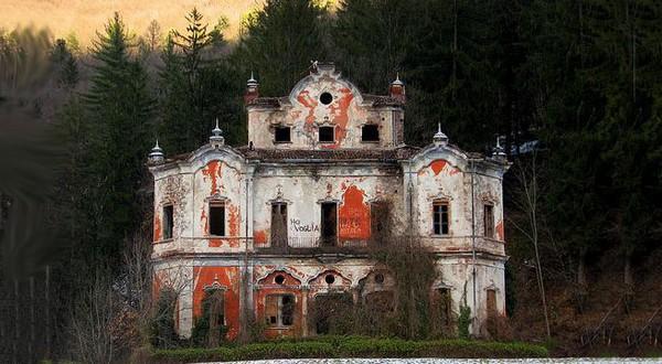 casas com fantasmas