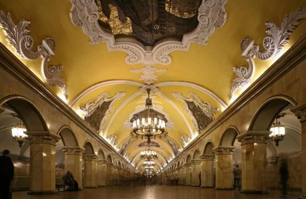 O metro mais belo do mundo