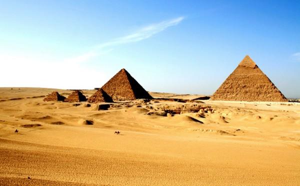 pirâmides do egipto