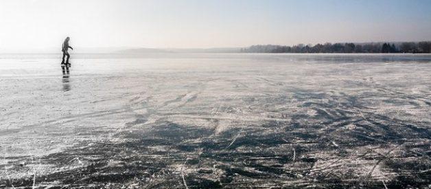lago gelado