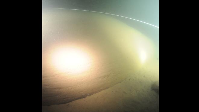 anomalia no mar báltico