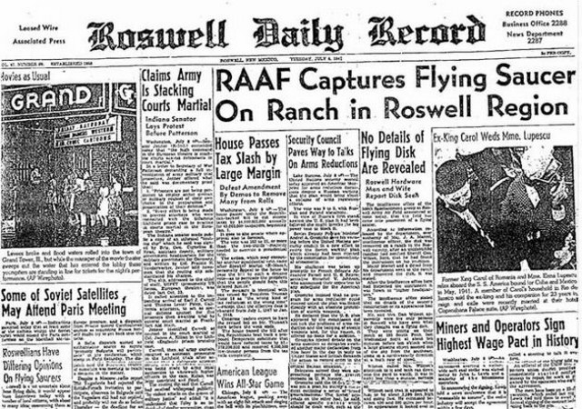 acidente roswell