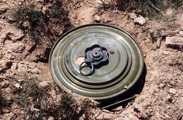 minas antipessoais
