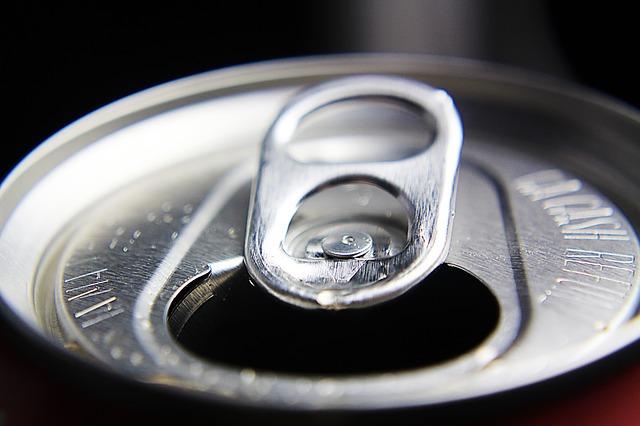 O anel da lata de refrigerante