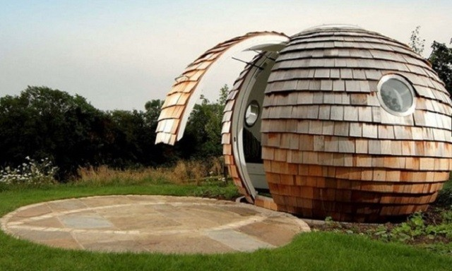 bubble house
