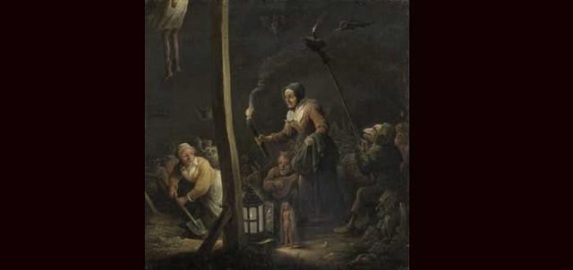 cena de bruxas