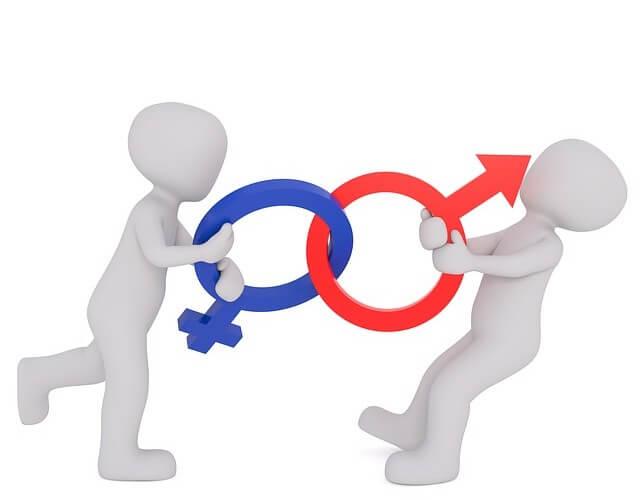 simbolos feminino e masculino