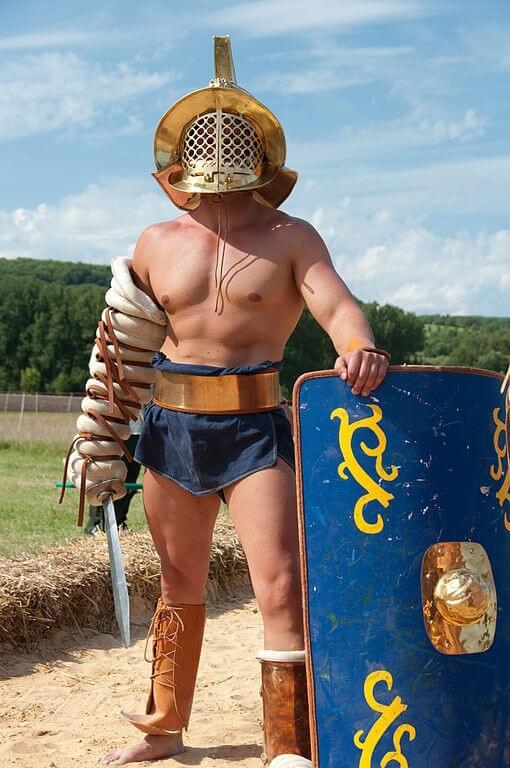 Tipos de Gladiadores de Roma