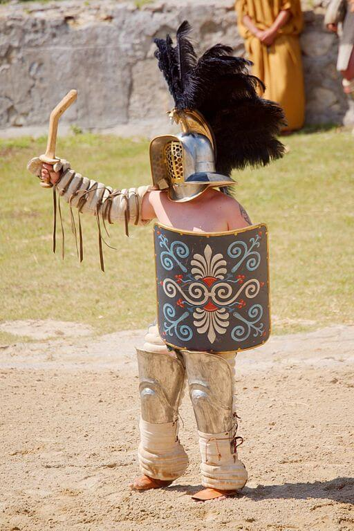 Tipos de Gladiadores da Roma Antiga